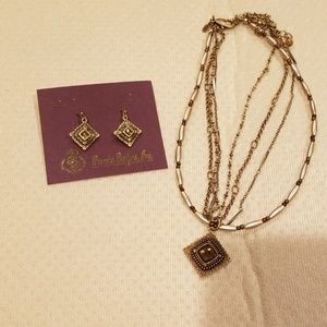 Premier Design Necklace and Earrings Set